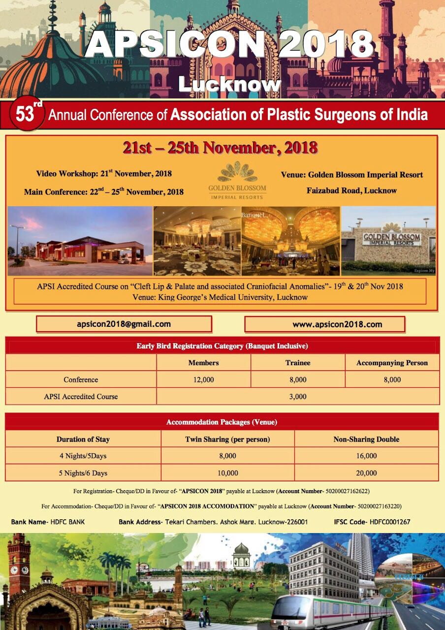 53nd Annual Conference of Association of Plastic Surgeons of India